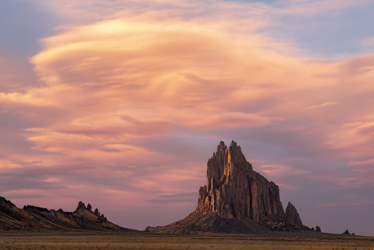 Moyer_Angie_Shiprock-at-Sunset_DSC8078